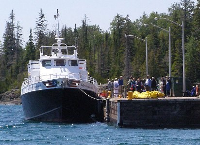 Queen IV Isle Royale Transportation