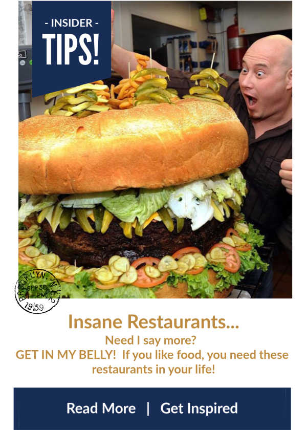 Insane Restaurants In Michigan