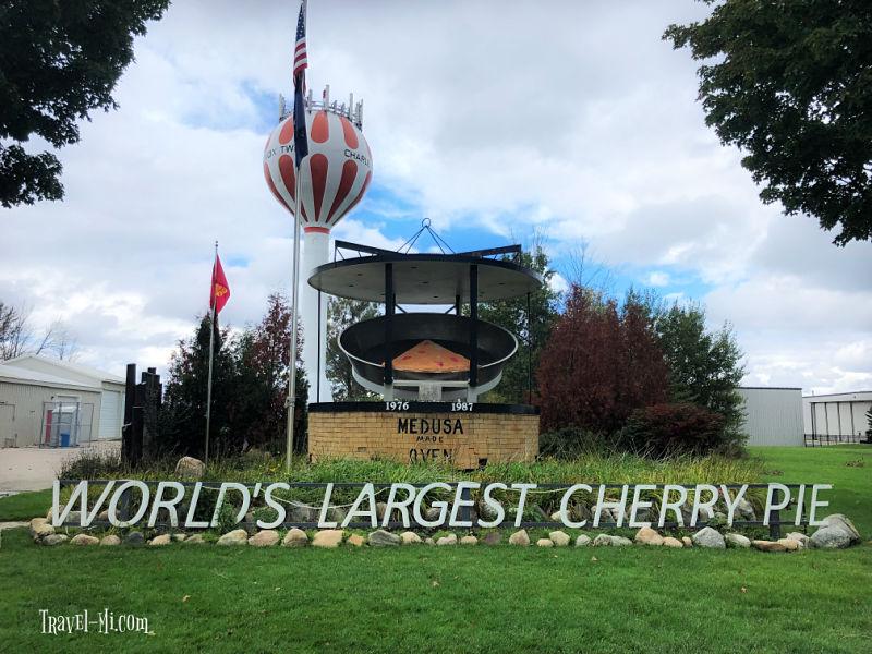 World's Largest Cherry Pie, Charlevoix Michigan