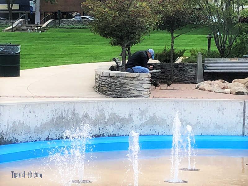 Charlevoix Fountain
