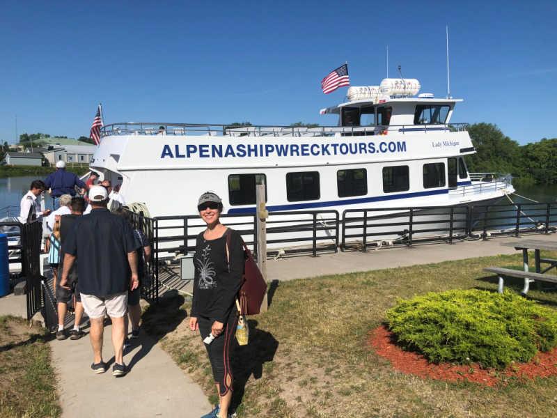 Alpena Shipwreck Tour