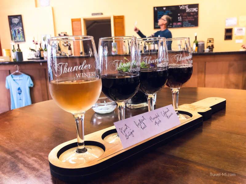 Thunder Bay Winery Tasting Room, Alpena, MI