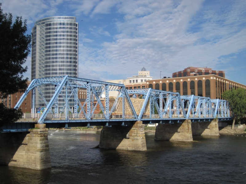 Blue Bridge, Grand Rapids Michigan