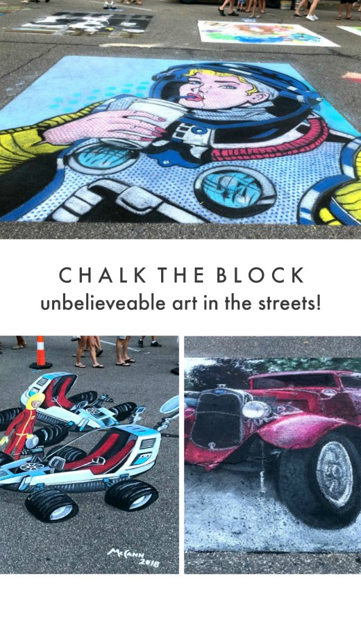St Joseph Chalk the Block Event