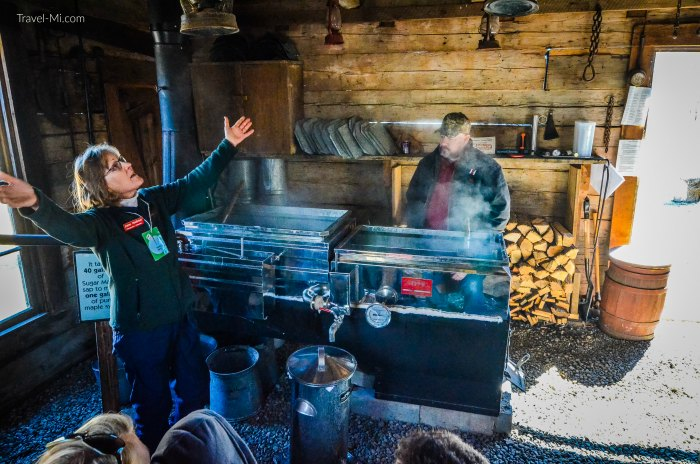 Chippewa Nature Center, Maple Syrup Day