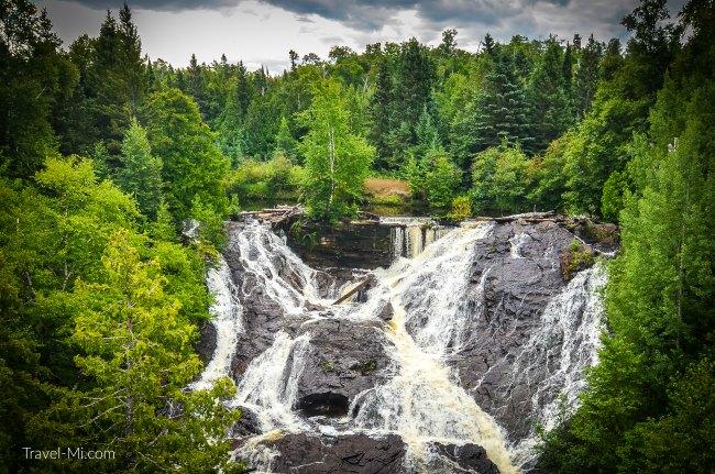 Eagle River Falls and Dam