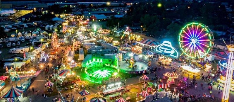 Upper Peninsula Fair, Escanaba Michigan. Photo by VisitEscanaba.com
