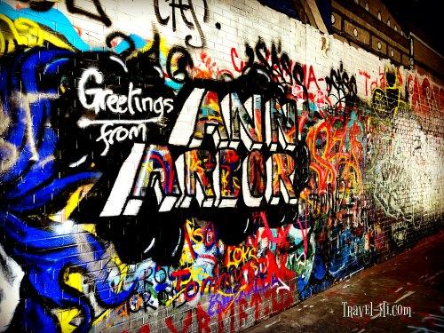 Graffiti Alley-Ann Arbor Michigan