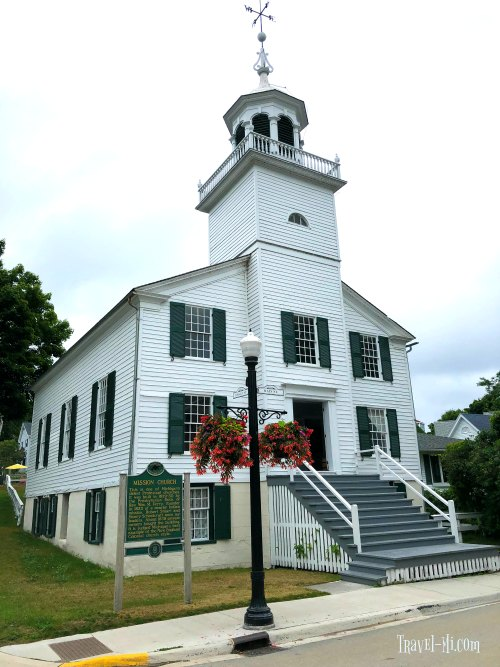 Historic Mission Church, Mackinac Island