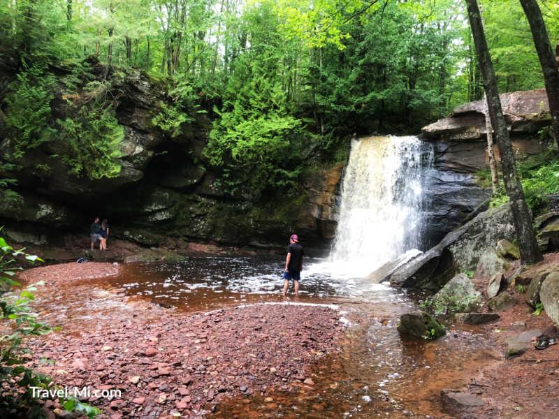 Hungarian Falls, Hubbell, Michigan
