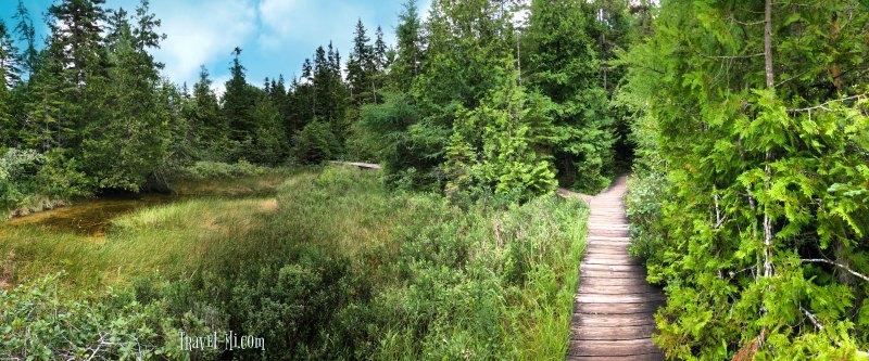 Lost Lake Nature Trail, Mackinac Island