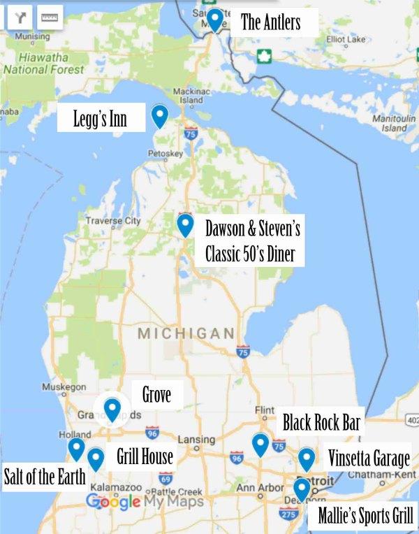 9 Insane Restaurants In Michigan