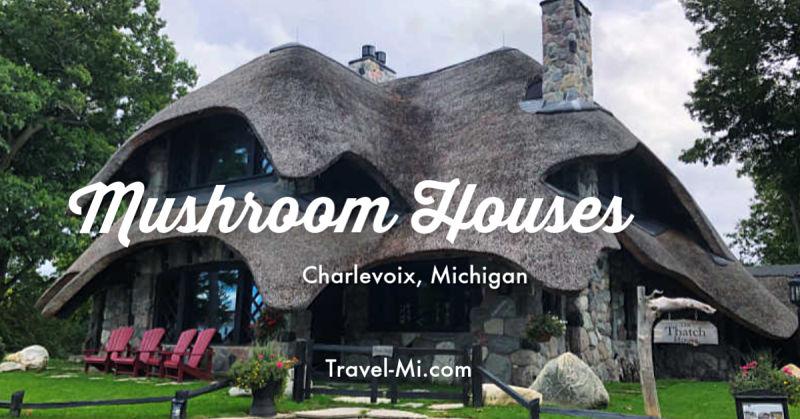 Mushroom Houses Charlevoix