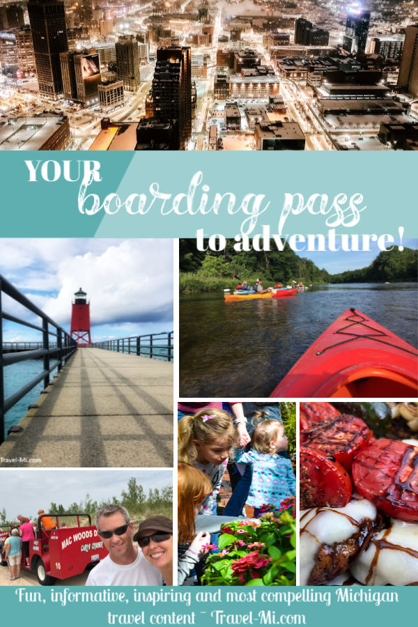 Traveling Michigan Boarding Pass Newsletter-Your Ticket to Adventure!