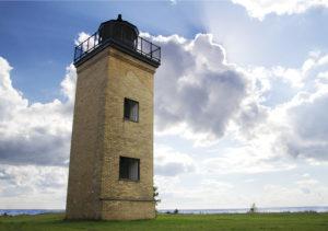 Peninsula Point Lighthouse, Escanaba, MI Photo: VisitEscanaba.com