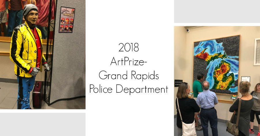 Art Prize at Grand Rapids Police Department