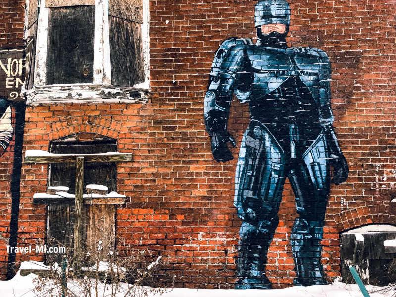 RoboCop in Detroit!