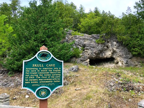 Mackinac Island Skull Cave