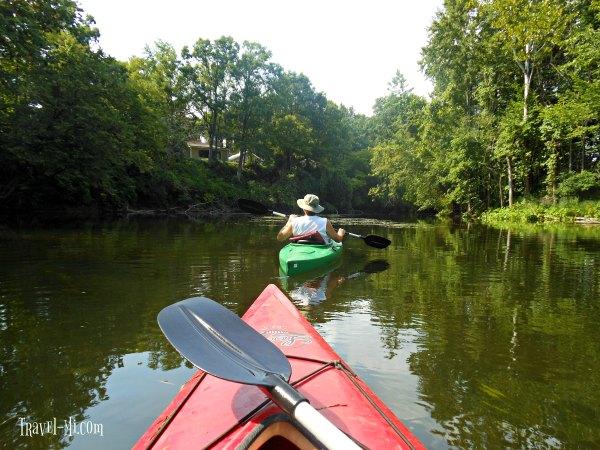 Thornapple River Kayaking Michigan
