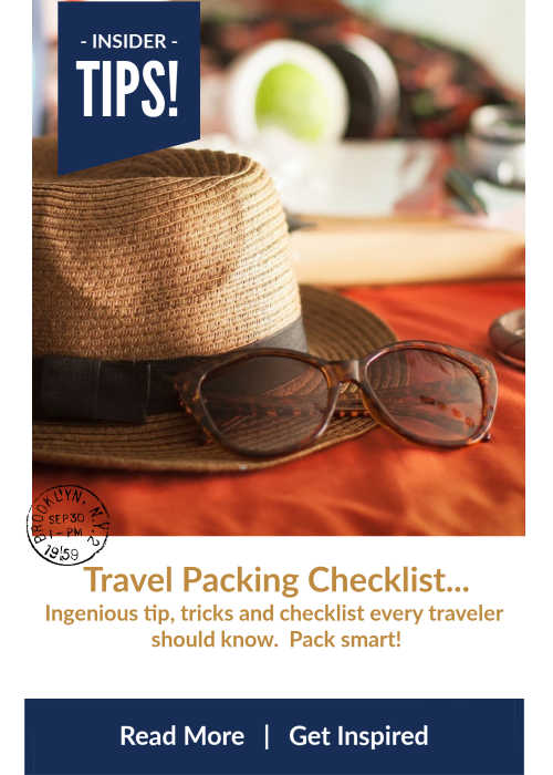 Travel Packing Checklist