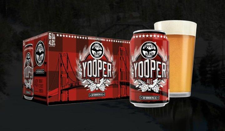 Upper Hand Brewery, Escanaba Michigan. Photo: Upper Hand Brewery