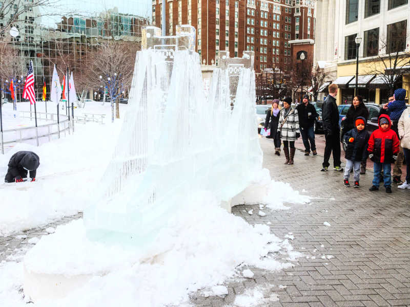 Valent Ice, GR. Photo Credit: Experience Grand Rapids