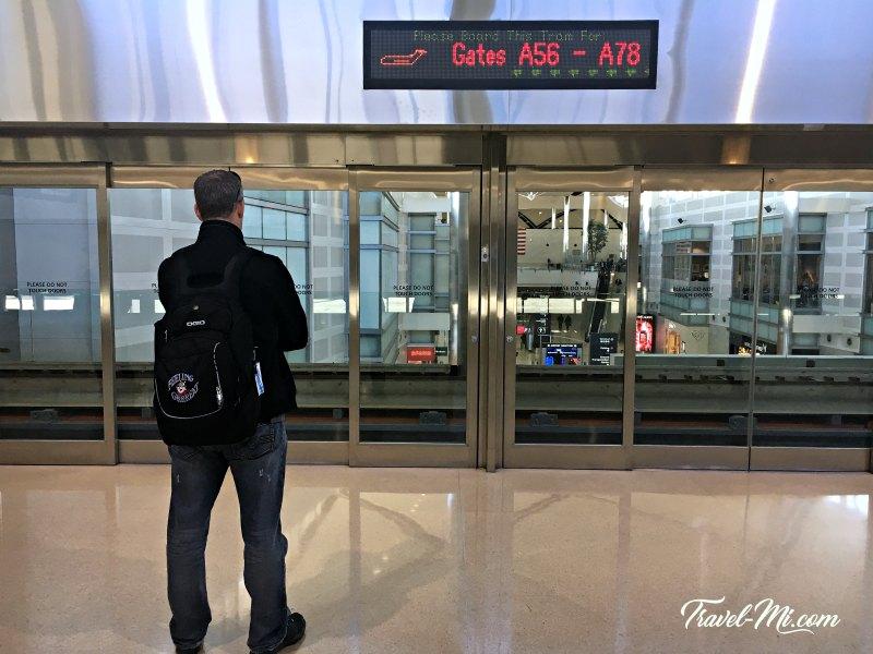 Detroit McNamara Airport Express Tram