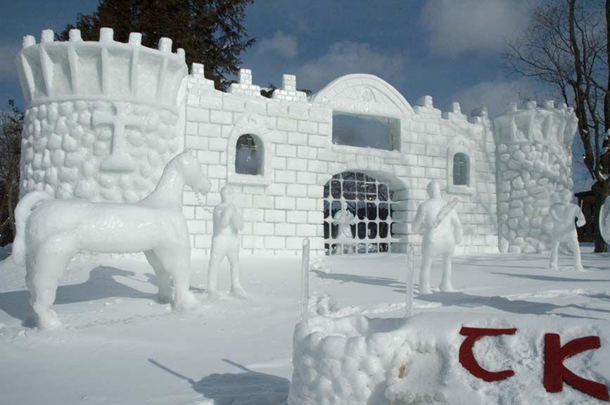Winter Carnival, Houghton, MI. Photo via Pinterest