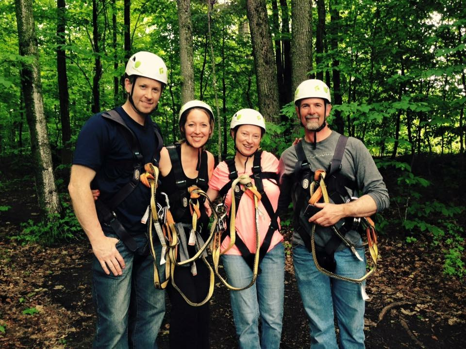 Zipline Adventure, Boyne Mountain