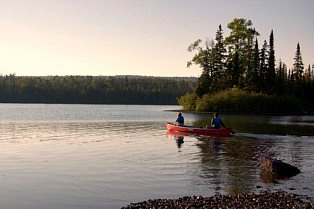 via NPS, Canoeing Isle Royale