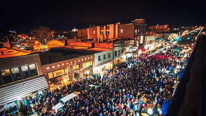 New Year's Eve Ball Drop in Marquette | Photo Courtesy of Travel Marquette