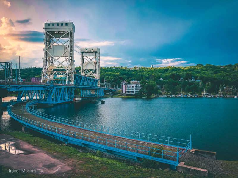 Portage Lake Lift Bridge, Houghton, MI