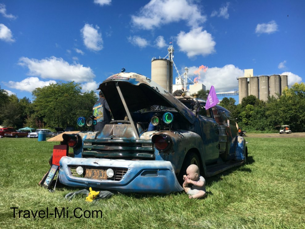 Frankenmuth Michigan Auto Fest, Crazy Rat Rod