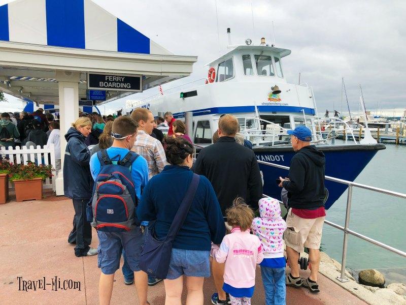 Mackinaw City, Shepler's Ferry