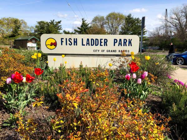 Fish Ladder Park, Grand Rapids, MI