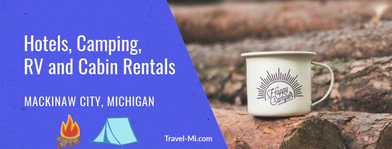 Hotels, camping, RV and cabin rentals in Mackinaw City