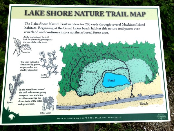 Lost Lake Nature Trail, Mackinac Island