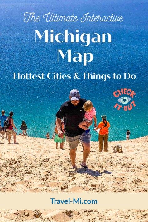 Ultimate Michigan Map by Travel-Mi.com