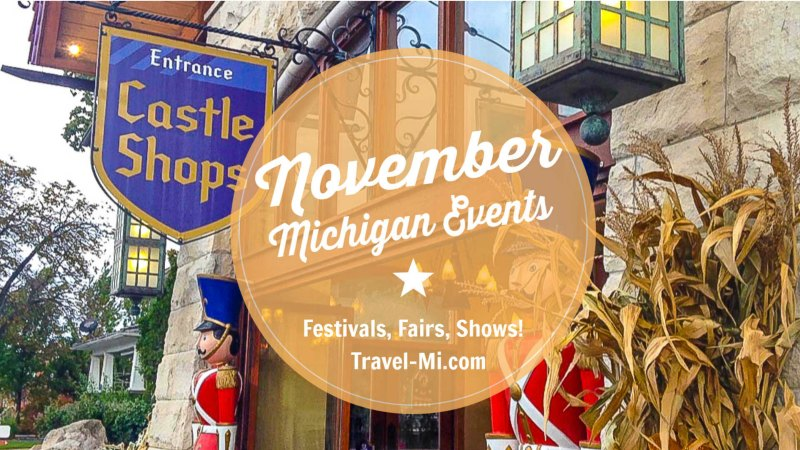 November Michigan Events and Things to Do