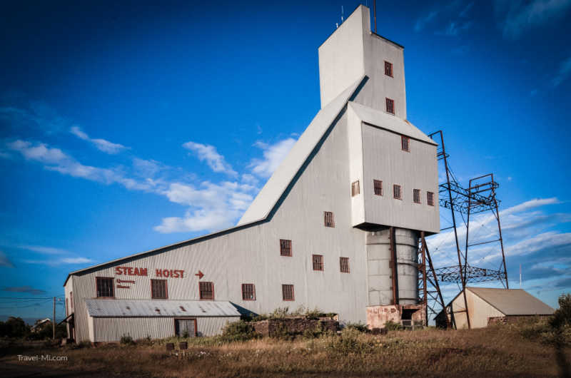 Quincy Mine, Hubbell, Michigan-By Travel-Mi.com