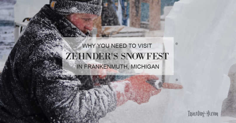 Zehnder's Snowfest, Frankenmuth, By Traveling Michigan, Travel-Mi.com