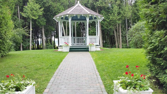 Mackinac Island Somewhere In Time Gazebo