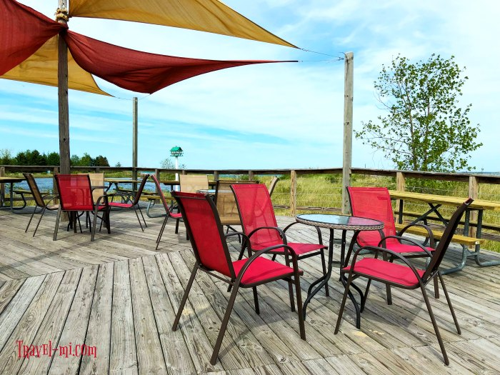 Tawas Point Grill, Tawas State Park