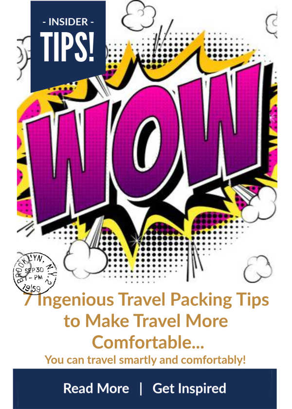 Ingenious Travel Packing Tips