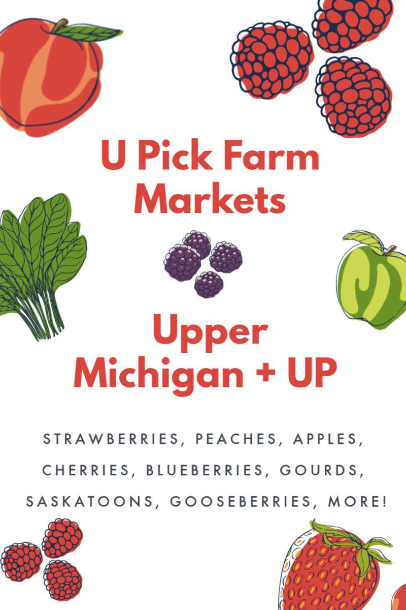 Michigan U Pick Farm Markets